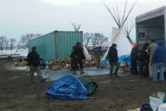 Firswood delivered to Cheyenne River Camp 1