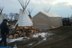 Firswood delivered to Cheyenne River Camp 4